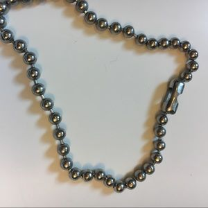 Hot Topic Vintage Ball Chain Necklace